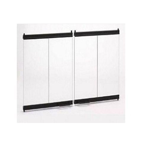 Majestic Original Bi-Fold Glass Doors w/Black Trim for Sovereign 42
