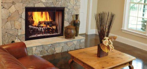 42 See Thru Radiant Dsr42 Wood Burning Fireplaces