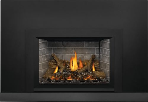 Oakville X3 Gas Fireplace Insert with Westminster Standard Panels