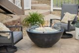 """Outdoor Great Room CV-30BLK Black Cove 30"""" Gas Fire Pit Bowl"""