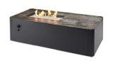 Kinney Rectangular Gas Fire Pit Table