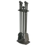 Pilgrim 18042 5 Piece Ball and Claw Tool Set - Burnished Black
