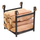 Pilgrim 18550 Western Star Wood Holder in Black with Leather Accents