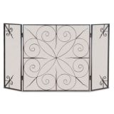 Pilgrim 19235 3 Panel Elements Screen - Black