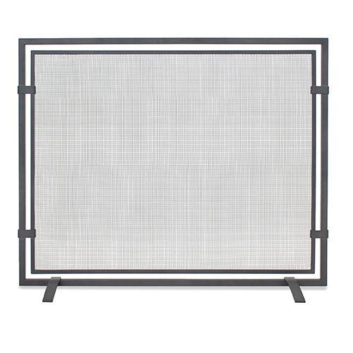 Pilgrim 18251 Single Panel Sinclair Screen - Natural Iron