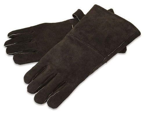 Pilgrim 19619 Hearth Gloves - Black Leather