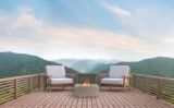 Bonita Fire Table in Slate Grey - Natural Gas