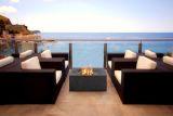 Bonita Fire Table in Charcoal Grey - Natural Gas