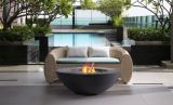 Shangria-La Fire Table in Charcoal - Natural Gas