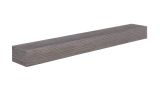 "Zachary Non-combustible natural wood look 48"" Shelf Little River Finish"