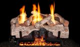 "Real Fyre 30"" Charred Alpine Birch Log Set - LOGS ONLY"