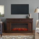 Real Flame 4020E Torrey Electric Fireplace - Dark Walnut