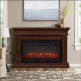 Real Flame 8080E Beau Electric Fireplace - Dark Walnut