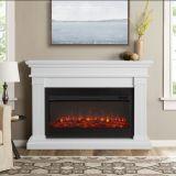 Real Flame 8080E Beau Electric Fireplace - White