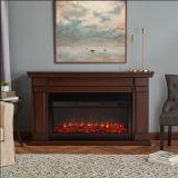 Real Flame 8230E Carlisle Electric Fireplace - Chestnut Oak