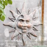 SPI 33163 Half Face Sun Wall Plaque