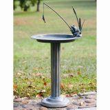 SPI 33302 Fishing Frog Sundial / Birdbath