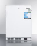 Summit FF7LBIVAC Built-In Undercounter Medical All-Refrigerator