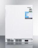 Summit FF7LBIVACADA Built-In Undercounter Medical All-Refrigerator