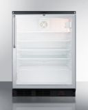Summit Freestanding Glass Door Craft Beer and Wine Refrigerator