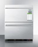 Summit SP6DS2D7MEDDTADA Built-In Commercial 2-Drawer All-Refrigerator
