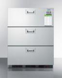 Summit SP6DS7MEDDTADA Built-In Commercial 3-Drawer All-Refrigerator