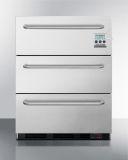 Summit SP6DSSTB7MEDDT Built-In Commercial 2-Drawer All-Refrigerator