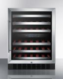 Summit SWC530BLBISTCSSADA Dual Zone Built-In Wine Cellar
