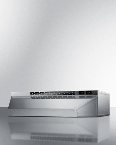 "Summit 18"" Ductless Range Hood -Stainless Steel"