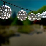 Smart Living 3702WR20 Solar String Light - Carnivale-White  - 20 ct.