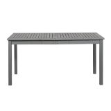 Walker Edison OWSDTGW Simple Outdoor Dining Table - Grey Wash