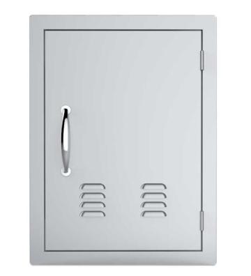 """17"""" X 24""""Vertical Single Access Door with Vents"""