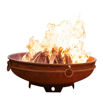Firepit Art Emperor Electronic Fire Pit with Stainless Steel Burner - Liquid Propane