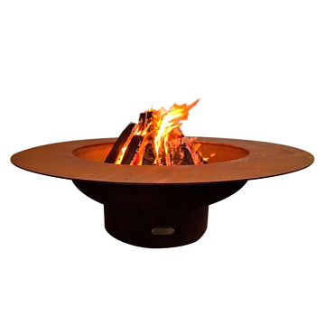 """Firepit Art 54"""" Dia Magnum Electronic Fire Pit with Stainless Steel Burner- Liquid Propane"""