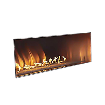"Empire Outdoor 60"" SS Manual Ignition Linear Fireplace - Natural Gas"
