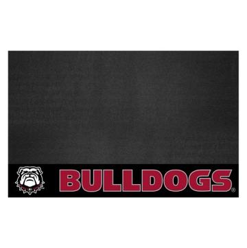 """Fanmats 22880 Georgia Black New Bulldog Grill Mat 26""""x42"""""""