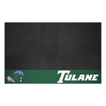 """Fanmats 23086 Tulane Grill Mat 26""""x42"""""""