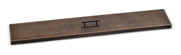 """AFG OB-CV-LCB-48 Cover for 48"""" x 6"""" Fire Pit Pan - Oil Rubbed Bronze"""