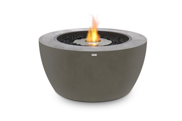 EcoSmart Pod 40 Freestanding Firepit-Bioethanol Fuel-Natural Finish