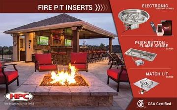 """HPC Fire 48"""" x 30"""" Banner Kit for Indoor or Outdoor Showroom"""