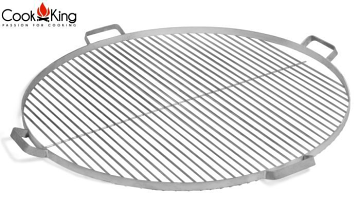 CookKing 80 cm SS Grill Grate for Dallas, Kongo and Fat Boy Fire Bowls