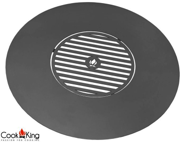 CookKing 82 cm Grill Plate with Grate Inside for CooKKing Fire Bowls