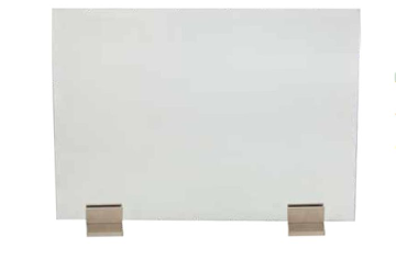 Dagan AH-GS-SN Base in Satin Nickel For Glass Screen - Set of 2