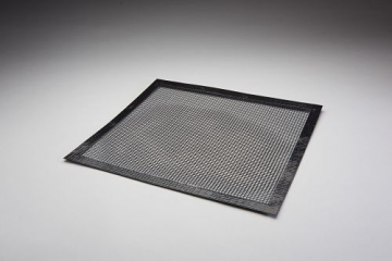 """Essentialware Flat Mesh Grill Topper with Bound Edge - 14"""" x 14"""""""