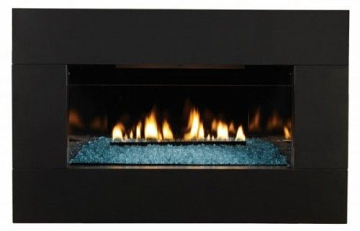Loft Series 20K Btu, IP VF Insert w/ (7 x 6) Black Surround, LP