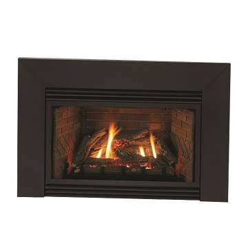 Innsbrook 20K BTU, MV VF Small Insert w/ (4 x 3) Black Surround, LP