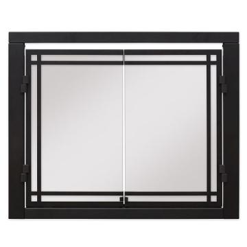 """Dimplex 36"""" Portrait Revillusion Double Glass Doors"""