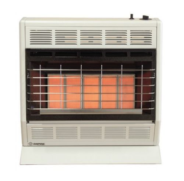 Empire SR30WNAT VF Infrared Heater with Manual Control - NG