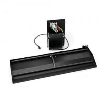 HPC Fire 28'' Dual Step 120VAC, HI/LO Electronic Ignition H-Burner-LP
