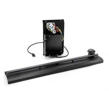HPC Fire 58'' Electronic Ignition 120VAC, HI/LO Linear Burner - NG